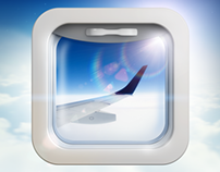 Flights app iOS icon