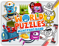 Monters Band - World of Puzzles -
