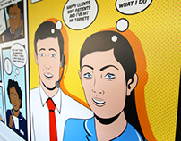 Newcross Office Mural