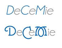 Decemie logo design process
