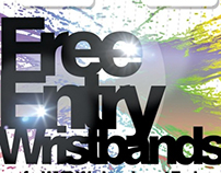 free entry poster