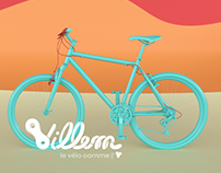 Villem, le vélo comme j'aime