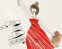 COISAS BOAS NOS AGUARDAM - promotional poster