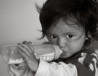 Portraits d'enfants N&B