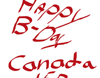 Canada day logo