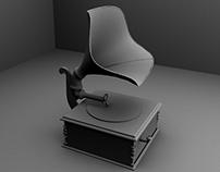Gramaphone - 3D Modelling
