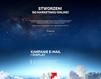 Landing page executed in Brandwise Sp. z o.o.