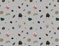 Rocks Pattern