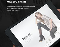 Bewear - Lookbook Style eCommerce Magento Theme