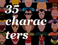 35 characters