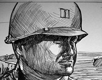 Omaha - Comic Book Adaptation of Saving Private Ryan