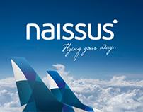 Concept design for Naissus Regioanl Airlines