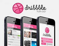 Dribbble iOS7 App - User Interface Design