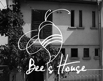 Bee's House / logo design / 2010