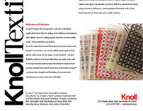 Knoll Textiles Version 3 Page 1