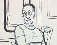 Drawings of Train People