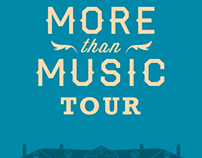 More Than Music Tour Poster