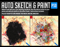 Auto Sketch & Paint Mask Series