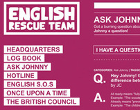 British Council to the rescue!