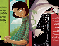 Illustrated book - Eu na Internet