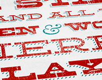 Ohio Shakespeare Festival—Type Print