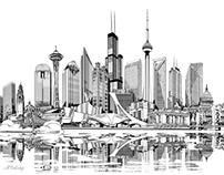 American/Canadian Skyline