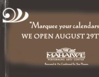 MAHAIWE PERFORMING ARTS OPENING