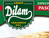 Fabrica de pastas Dilam // Packaging