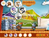 Battle of Puppets - Mobile Game iOS