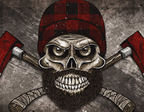 Lumberjack Crossbones