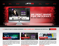 JM9 Design Studio's Website