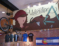 Velorution Cycles Sign