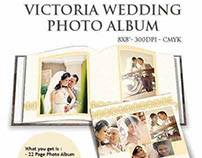 Victoria Wedding Photo Album