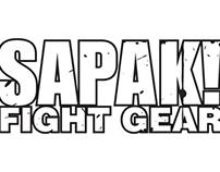 SAPAK! FIGHT GEAR Logo