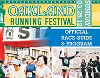 2012 Oakland Runing Festival Program