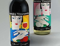 Gatsby Vineyards Wine Label Project