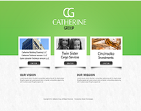 Website Designed For Catherine Group of Companies