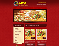 Website Designed for MFC