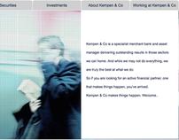 Global Reach: Kempen & Co corporate site