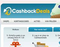 Cashback Deals Netherlands Cashback CMS
