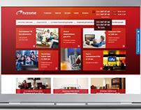 Дизайн интернет-магазина TVZONE