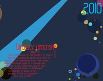 Calendar 2010 inspired by Kandinsky's paintings (2009)