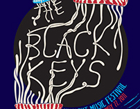 The Black Keys Hangout Festival Poster