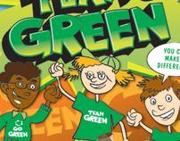 Go Team Green Poster / Brochure