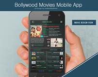 Bollywood Movies Mobile App Design