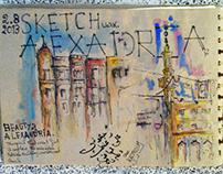 ALEXANDRIA sketchwalk