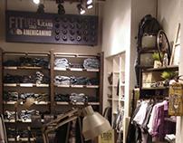 Art direction Americanino - Concept store