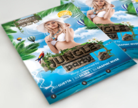 Summer Jungle Party Flyer