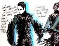 The Raven Project Sketchbook
