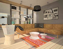 SA -  interior design project of a private residence